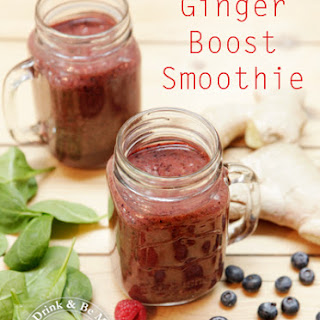 Ginger Boost Smoothie.