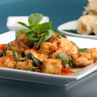 Asian Fusion Glazed Tofu.