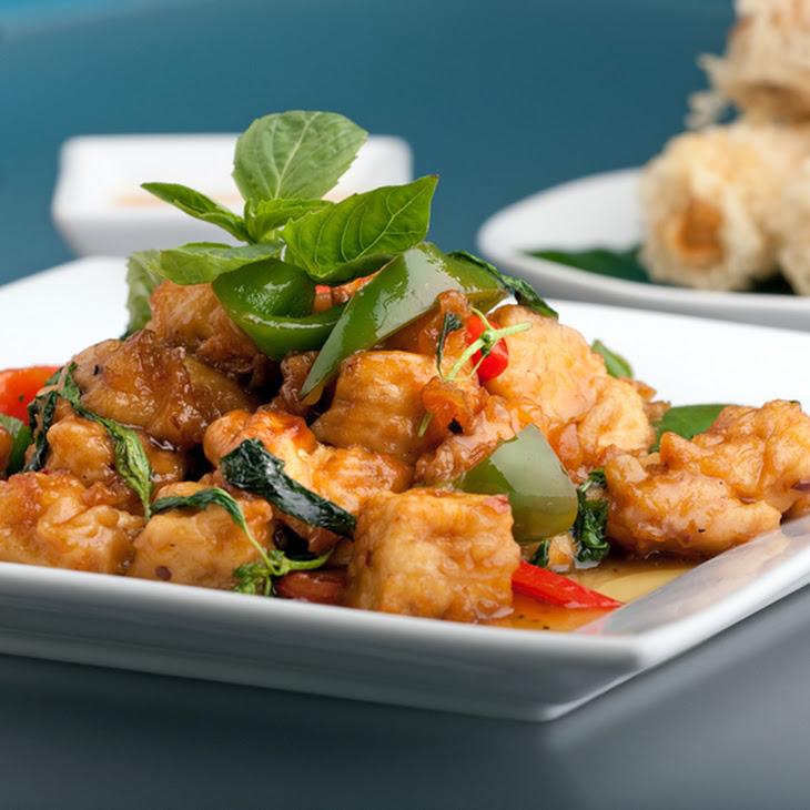 Asian Fusion Glazed Tofu