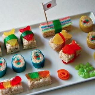 Candy Sushi.