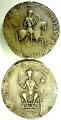 Photo: Guillaume le Conquérant, roi d'Angleterre et duc de Normandie (avers, en haut, et revers, en bas), en 1069 - Moulages, Paris, Archives nationales de France, sc/D9998-9998bis - diam. 85 mm - Légende de l'avers : /+ HOC NORMANNORVM VVILLELMV[M NOSCE PATRON]V[M] S/I(gno)/ (Par ce signe, reconnais Guillaume, le patron des Normands) ; du revers : /+ HOC A[NGLIE REGEM S]IGNO FATEARIS EVND/EM/ (Par ce signe, reconnais  le même, roi d'Angleterre).
