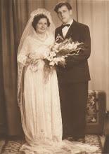 Photo: Petrutė Pauliūtė ir Marius Bitinas (Janinos Burbaitės archyvas)