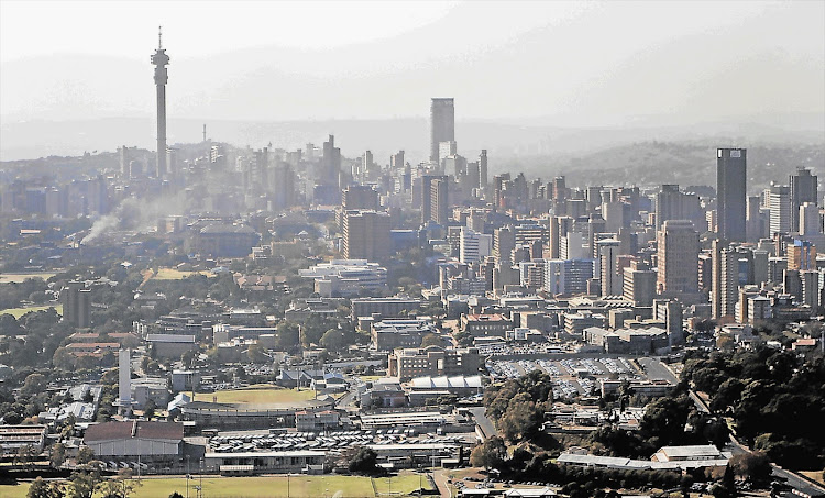 Johannesburg is still a baby when compared to cities like Singapore
