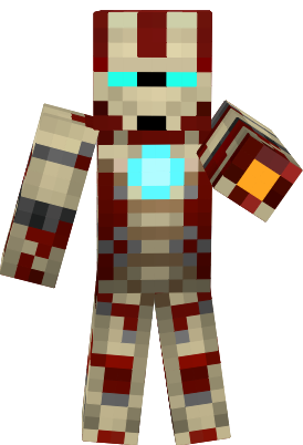 Iron Man Nova Skin - Minecraft skins fur iphone