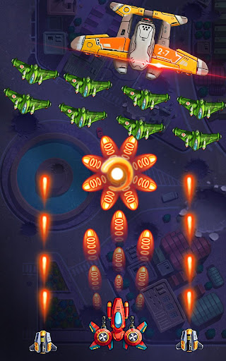Space Squad: Galaxy Attack of Strike Force  captures d'u00e9cran 3