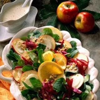 Große Salatplatte