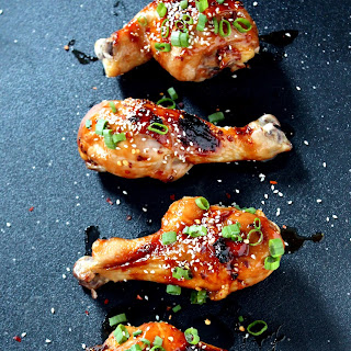 Korean Glazed Chicken Drumsticks