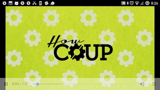 The COUP Companion App- screenshot thumbnail