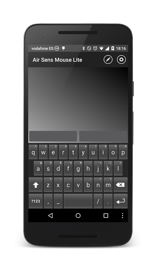 Air Sens Mouse LITE- screenshot