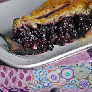 The Best Blueberry Pie