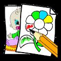 Говорящая раскраска icon