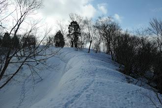 5m以上の雪庇