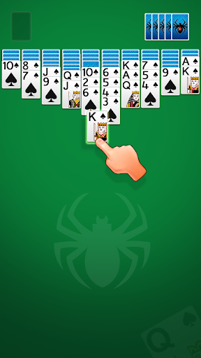 Solitaire Spider  captures d'écran 1