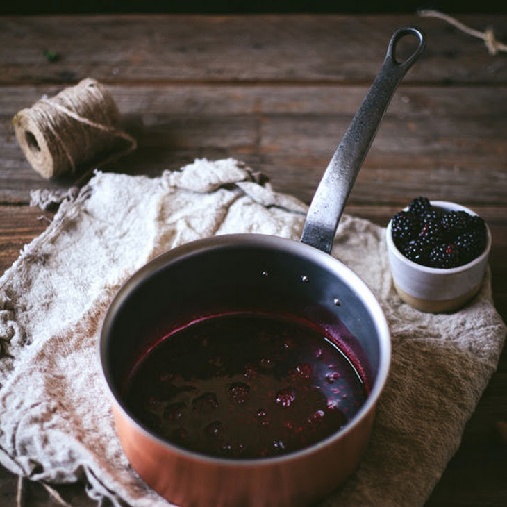 Blackberry Rum Fizz Recipe