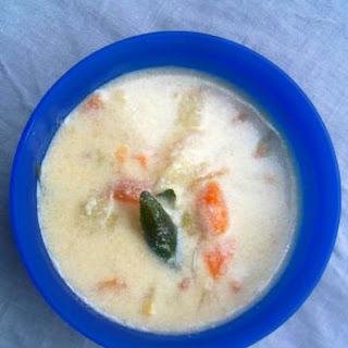 Vegetable coconut Milk Stew