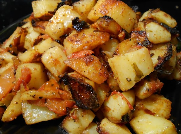 Mexican Style Pan Roasted Potatoes Recipe
