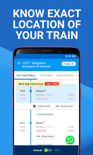 My Train: Live Status, IRCTC PNR Status & Tickets 3.7.0 gameplay | AndroidFC 2