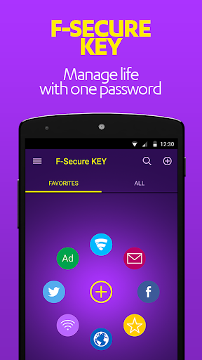 F-SECURE KEY 密码管理器