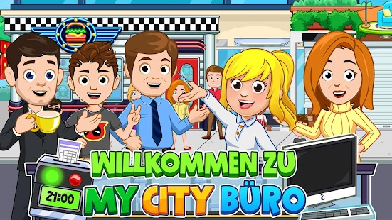 My City : Büro Screenshot