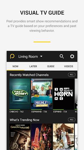 Peel Smart Remote TV Guide 10.5.8.5 screenshots 2