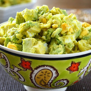 Avocado Egg Salad (Mayo-free).