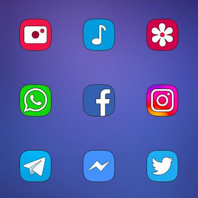 ONE UI - ICON PACK Screenshot Image