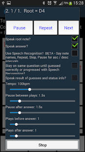 Interval Recognition-Ear Train- screenshot thumbnail
