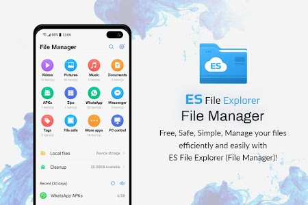 Es File Explorer - File Manager for Android 1.2