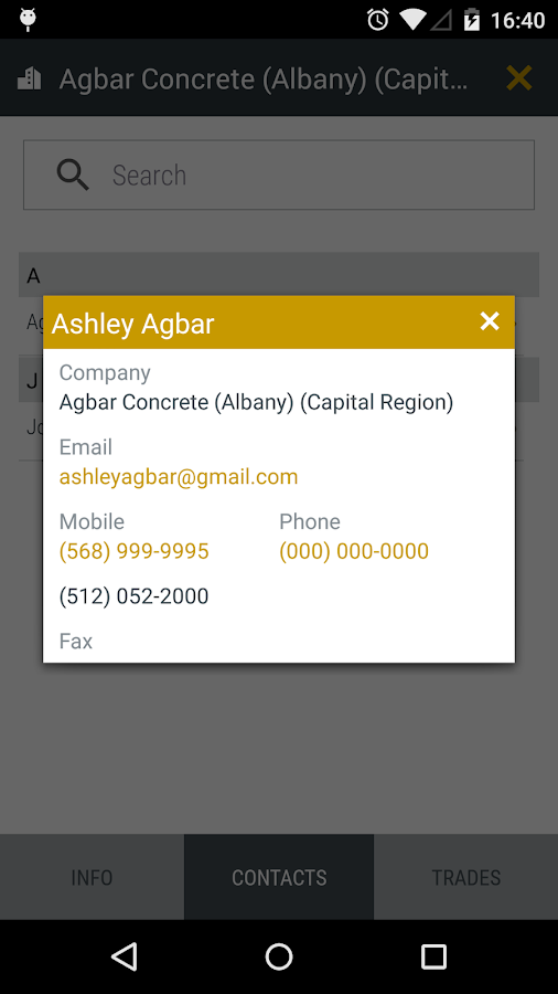 SmartBidNet for Construction- screenshot