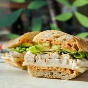 Chipotle Chicken Avocado Half Sandwich