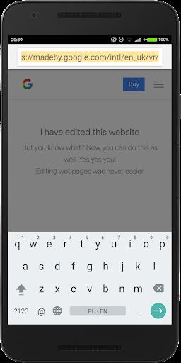 Edit Website Pro screenshot 2