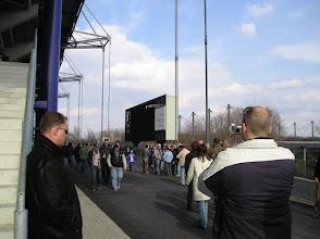 Photo: .... het oude scorebord uit het Wedau-stadion is bewaard gebleven ....