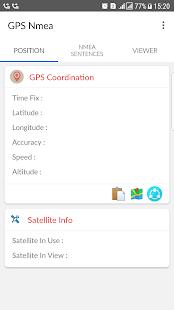 GPS Nmea Screenshot