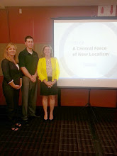Photo: Cooley, Macleod and Dr. Clemo presenting at the WACE conference.