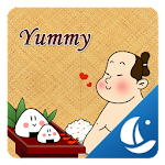 Yummy Sushi Boat Browser Theme Icon