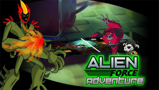 Aliens Force War Adventure X  captures d'écran 1