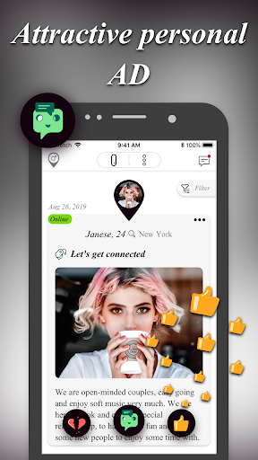 Threesome Dating Ads for Couples & Singles: 3Fan 1.0.6 screenshots 3