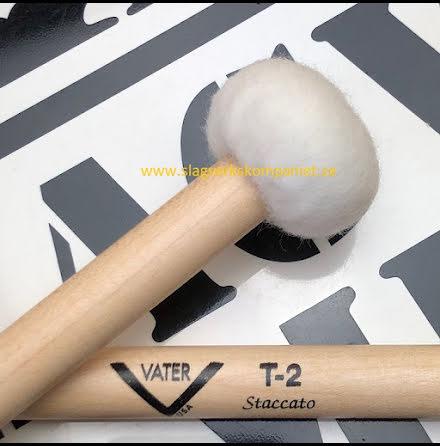 Vater T2 Staccato Timpani Mallets - VMT2