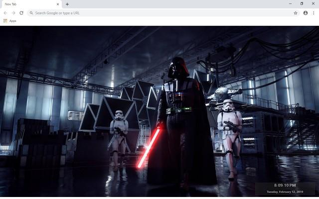 Star Wars Battlefront II New Tab Theme