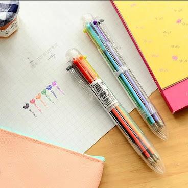 <No6: Colourful Pen>
