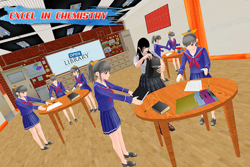 High School Fun: Virtual Girl 2018 1.1 {cheat|hack|gameplay|apk mod|resources generator} 3