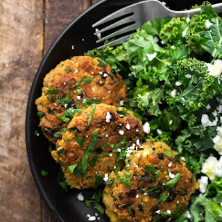 Spiced Chickpea Fritters.