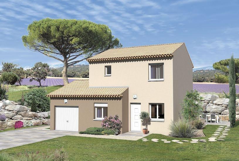 Vente Terrain + Maison - Terrain : 311m² - Maison : 91m² à Caromb (84330)
