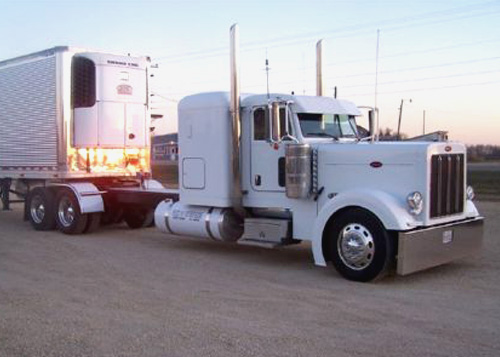 Peterbilt 379 ETC Extra Long Custom Fender
