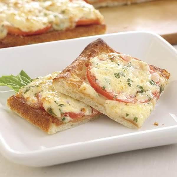 Tomato-basil Squares Recipe
