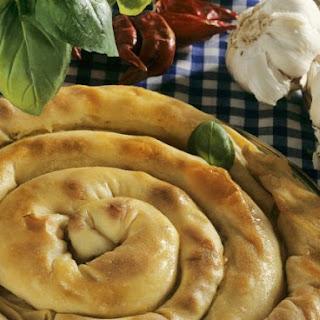 Swirly Savoury Pastry Ring.