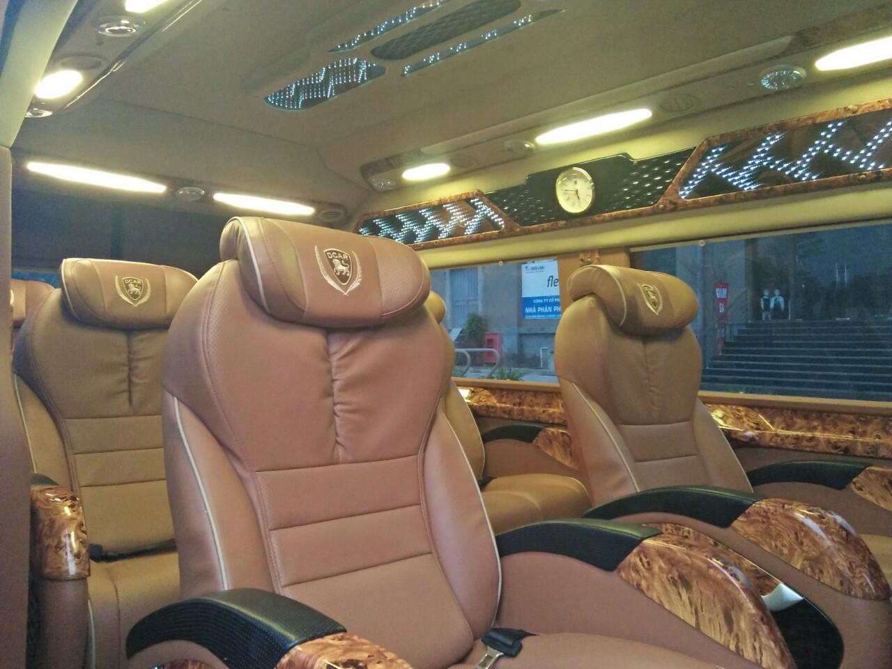 Nội thất xe Dream Transport Limousine đi Quảng Ninh từ Hà Nội