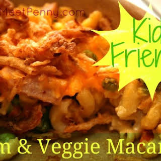 Ham and Veggie Macaroni.