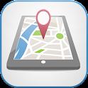 localisation téléphone icon