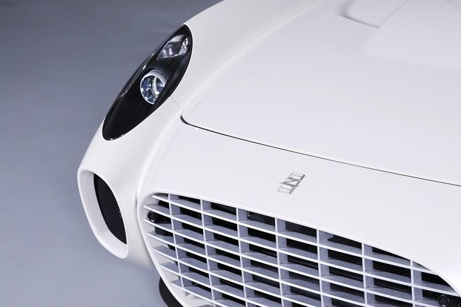 Ultra rare Ferrari 599 GTZ Zagato Nibbio Spyder will be auctioned at Riyadh Car Show